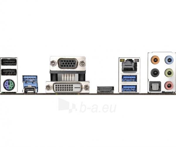 Pagrindinė plokštė ASRock A88M-G/3.1, A88X, DualDDR3-2133, SATA3, HDMI, DVI, D-Sub, USB 3.1, mATX Paveikslėlis 5 iš 5 310820017543