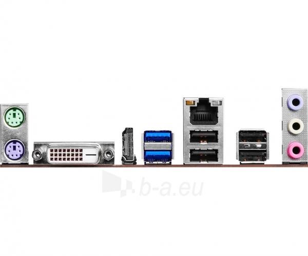 Pagrindinė plokštė ASRock H110M-HDS, H110, DualDDR4-2133, SATA3, HDMI, DVI, mATX Paveikslėlis 5 iš 5 310820017445