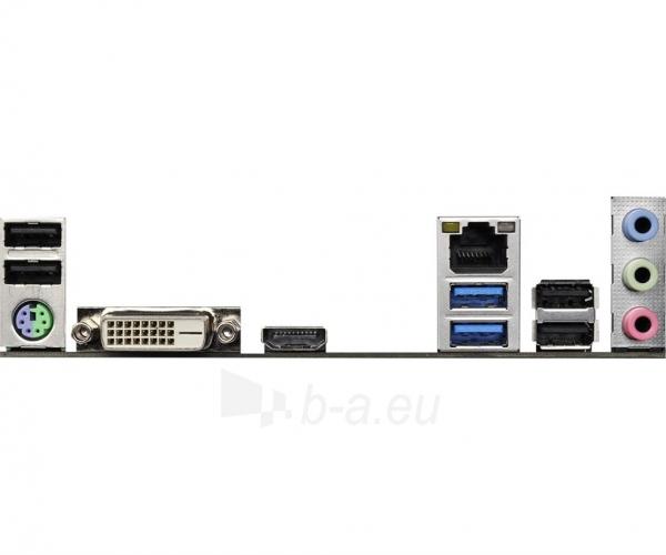Pagrindinė plokštė ASRock H110M-ITX/AC, H110, DualDDR4-2133, SATA3, M.2, HDMI, DVI, mITX Paveikslėlis 5 iš 5 310820017547