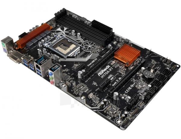 Pagrindinė plokštė ASROCK H170A-X1 LGA1151 ATX Paveikslėlis 1 iš 1 310820017428
