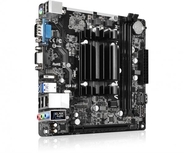 Pagrindinė plokštė ASRock QC5000M-ITX/PH, A4-5000, DDR3-1600, SATA3, HDMI, D-Sub, mITX Paveikslėlis 4 iš 5 310820017437