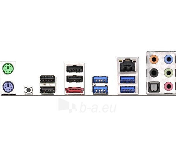 Pagrindinė plokštė ASRock X99 Extreme4, X99, QuadDDR4-2133, SATA3, eSATA, RAID, USB 3.0, ATX Paveikslėlis 5 iš 5 310820017336
