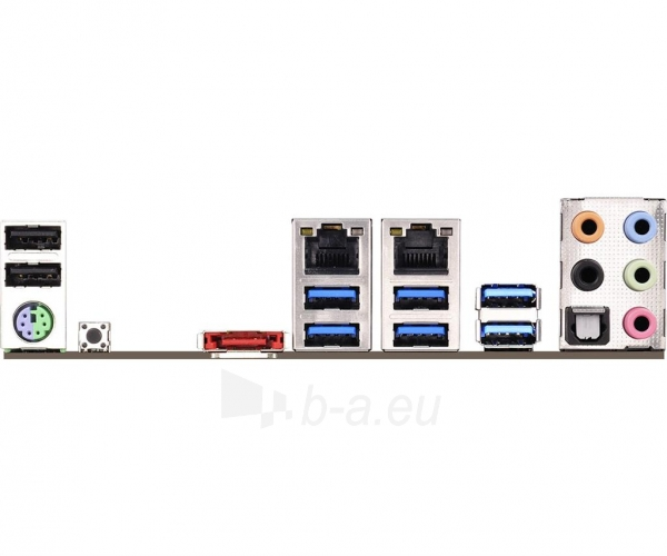 Pagrindinė plokštė ASRock X99E-ITX/AC, X99, DualDDR4-2133, SATA3, M.2, RAID, USB 3.1, mITX Paveikslėlis 5 iš 5 310820017460