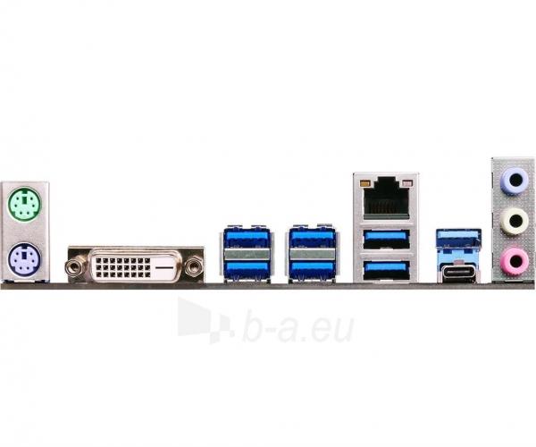 Pagrindinė plokštė ASRock Z170A-X1/3.1, Z170, DualDDR4-2133, SATA3, RAID, DVI, USB 3.1, ATX Paveikslėlis 5 iš 5 310820017446
