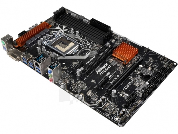 Pagrindinė plokštė ASROCK Z170A-X1 LGA1151 ATX Paveikslėlis 1 iš 1 310820017426