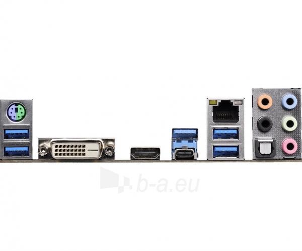 Pagrindinė plokštė ASRock Z170M EXTREME4, Z170, DualDDR4-2133, SATA3, M.2, HDMI, DVI, mATX Paveikslėlis 5 iš 5 310820017468