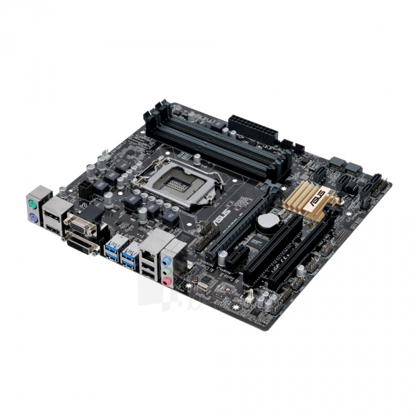 Pagrindinė plokštė ASUS B150M-C LGA1151 microATX Paveikslėlis 1 iš 1 310820017377