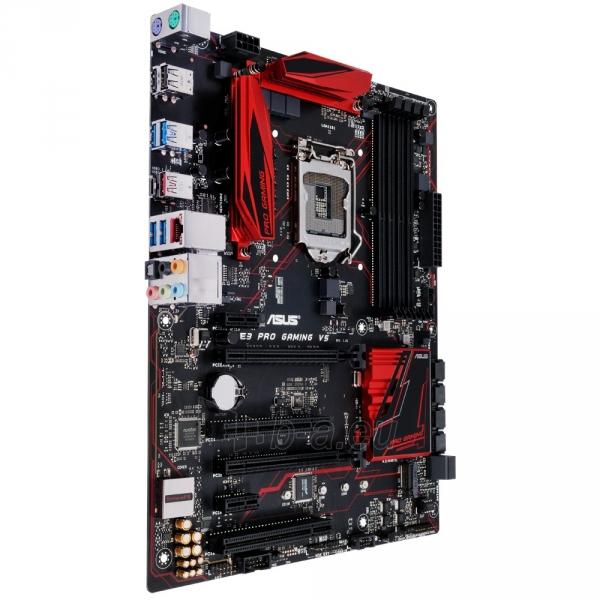 Pagrindinė plokštė ASUS E3 PRO GAMING V5 LGA1151 ATX Paveikslėlis 1 iš 1 310820017527