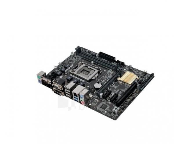 Pagrindinė plokštė ASUS H110M-C, H110, DDR4-2133, SATA3, DVI, D-Sub, mATX Paveikslėlis 3 iš 5 310820017281