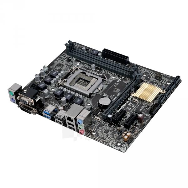 Pagrindinė plokštė ASUS H110M-K D3 LGA1151 mATX Paveikslėlis 1 iš 1 310820017283