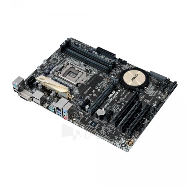 Pagrindinė plokštė ASUS H170-PRO/USB 3.1 LGA1151 ATX Paveikslėlis 1 iš 1 310820017526