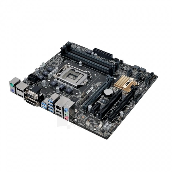 Pagrindinė plokštė ASUS Q170M-C, Q170, DDR4-2133, SATA3, DVI, D-Sub, DP, mATX Paveikslėlis 2 iš 5 310820017319