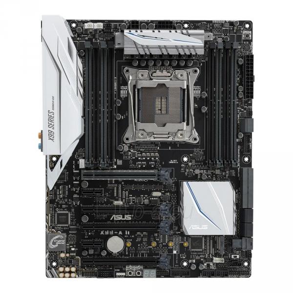 Pagrindinė plokštė ASUS X99-A II, X99, QuadDDR4-2133, SATAe, SATA3, M.2, USB 3.1, ATX Paveikslėlis 2 iš 3 310820024007