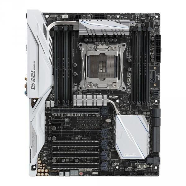 Pagrindinė plokštė ASUS X99-DELUXE II, X99, QuadDDR4-2133, SATAe, SATA3, M.2, USB 3.1, ATX Paveikslėlis 2 iš 4 310820025537