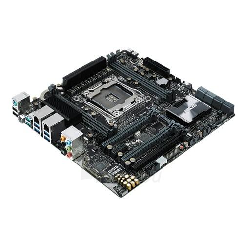 Pagrindinė plokštė ASUS X99-M WS/SE LGA2011-3 X99 microATX Paveikslėlis 1 iš 1 310820017421