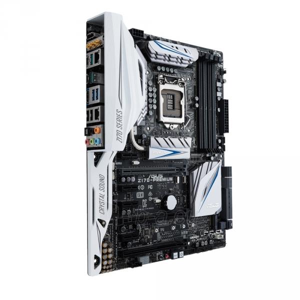 Pagrindinė plokštė ASUS Z170-PREMIUM LGA1151 ATX Paveikslėlis 1 iš 1 310820017525