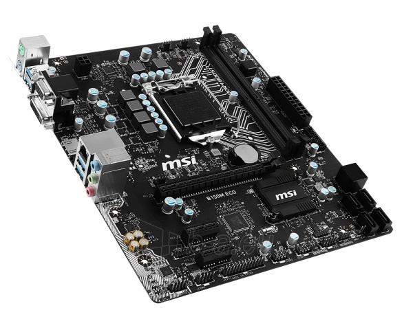 Pagrindinė plokštė MSI B150M ECO LGA1151 DDR4 mATX Paveikslėlis 1 iš 1 310820017423