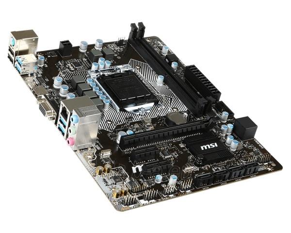 Pagrindinė plokštė MSI B150M PRO-VH LGA1151 mATX Paveikslėlis 1 iš 1 310820017298