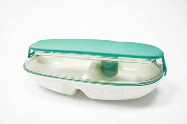Pailga maisto dėžutė Gourmet, mėlyna Paveikslėlis 1 iš 7 310820012563