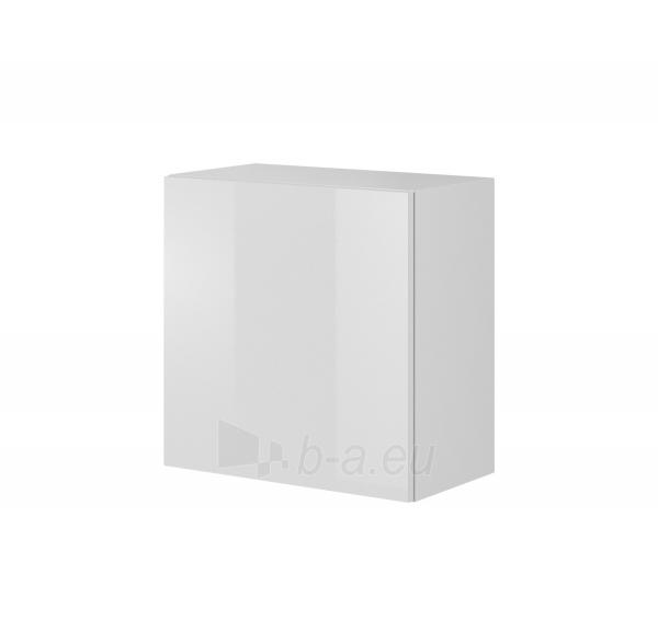 Pakabinama spintelė LIVO W-55 balta Paveikslėlis 1 iš 1 310820194664