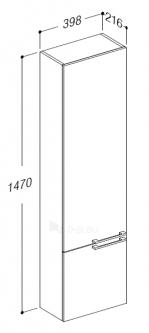 Hang-up for farms cabinet LILLY LLU40-SA Paveikslėlis 2 iš 2 250401000231