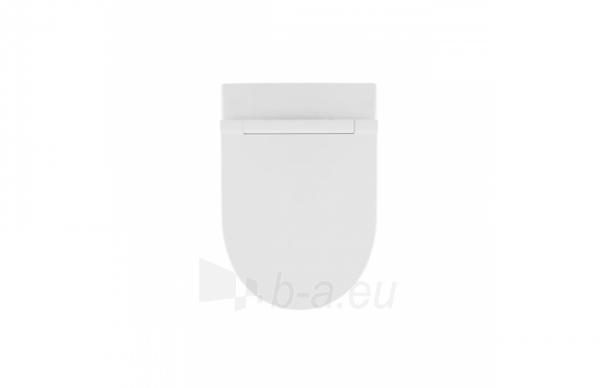 Pakabinamas unitazas SANLIFE Rimflush withaut nuplovimo lanko (380x560x352mm), baltas Paveikslėlis 3 iš 4 310820165678