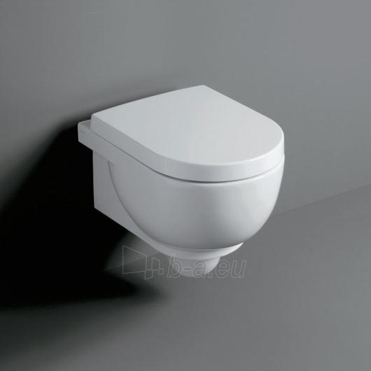 Hanging toilet Simas E-line with cover Paveikslėlis 2 iš 2 270713000483