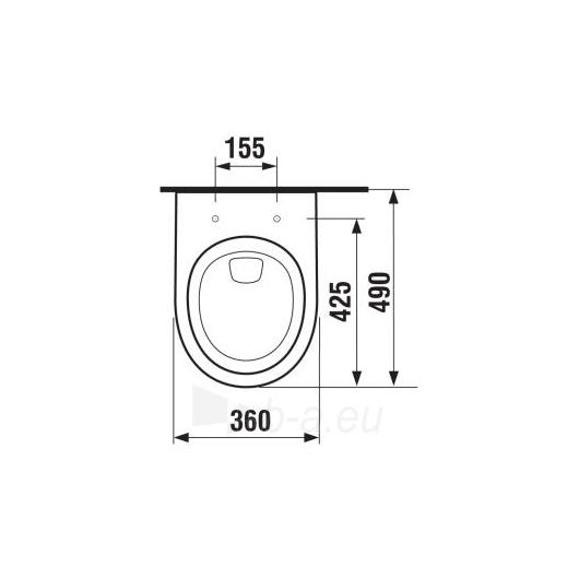 Hanging toilet Tigo Paveikslėlis 3 iš 5 270713000484