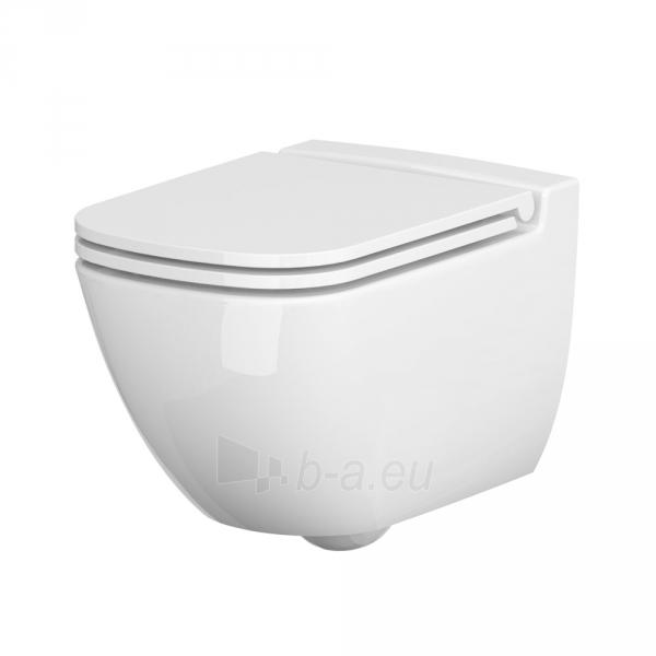 Apturets WC Cersanit, Caspia Clean-On Paveikslėlis 1 iš 4 310820163270