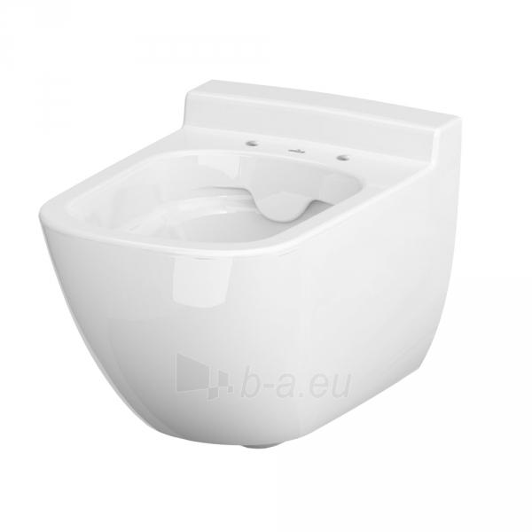 Pakabinamas WC Cersanit, Caspia Clean-On Paveikslėlis 2 iš 4 310820163270