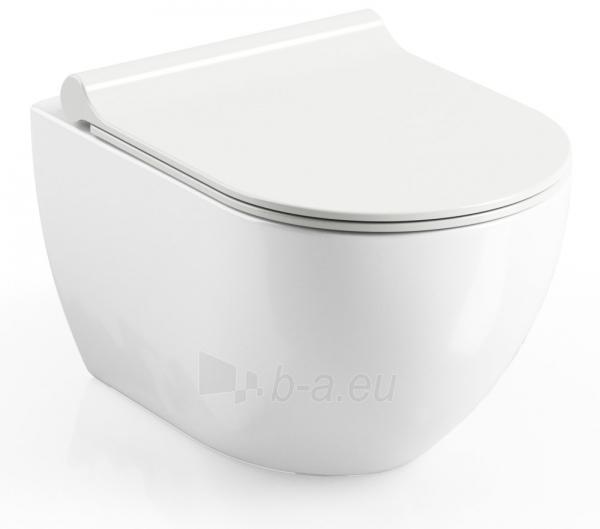 Pakabinamas WC Ravak, Uni Chrome Rimoff Paveikslėlis 1 iš 3 310820163327