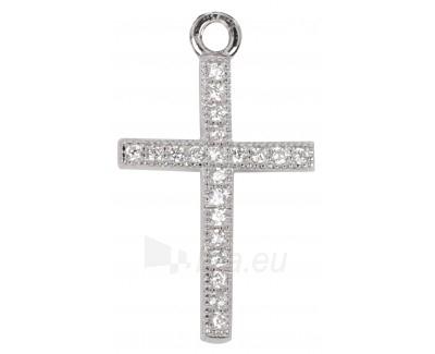 Pakabukas Beneto křížek s krystaly AGH05 Paveikslėlis 1 iš 1 30101100930