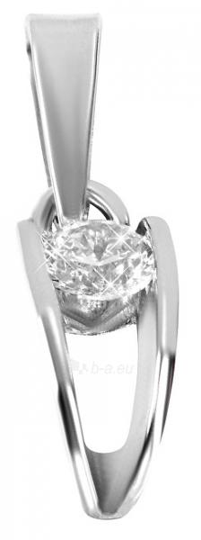 Pakabukas Brilio Silver Silver pendant with stone 446 001 00320 04 - 0.76 g Paveikslėlis 1 iš 3 310820127036