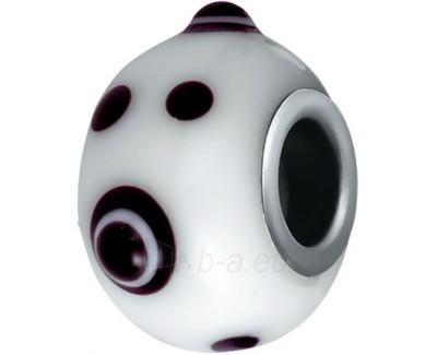 Pakabukas Morellato Drops White with Bubbles CZ57 Paveikslėlis 1 iš 1 30101101140