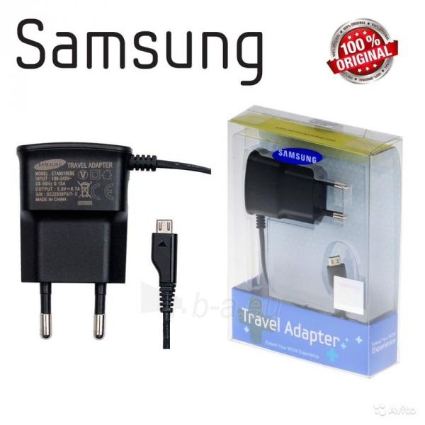 Pakrovėjas Samsung ETA0U10EBE Blister Paveikslėlis 1 iš 1 310820040463