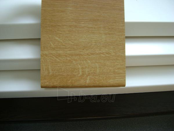 Chipboard window sills MELNOX 19x300x4100 mm, oak color, sawn Paveikslėlis 1 iš 2 237950200003