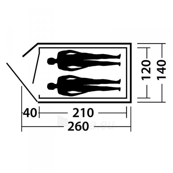 Palapinė Meteor 200 Paveikslėlis 3 iš 3 310820183571
