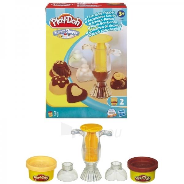 Palstelino rinkinukas Play-Doh 37430 / 36813 Chocolate Popper Paveikslėlis 1 iš 1 250710300086