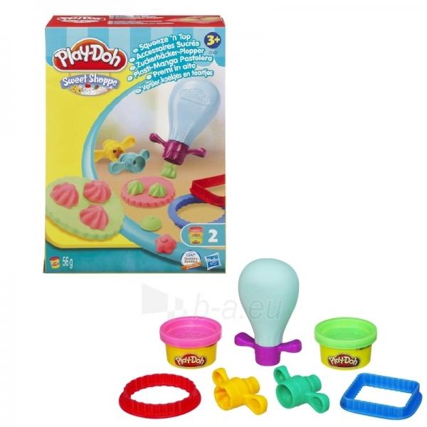 Palstelino rinkinukas Play-Doh 37431 / 36813 Squeeze`n Top Paveikslėlis 1 iš 1 250710300085