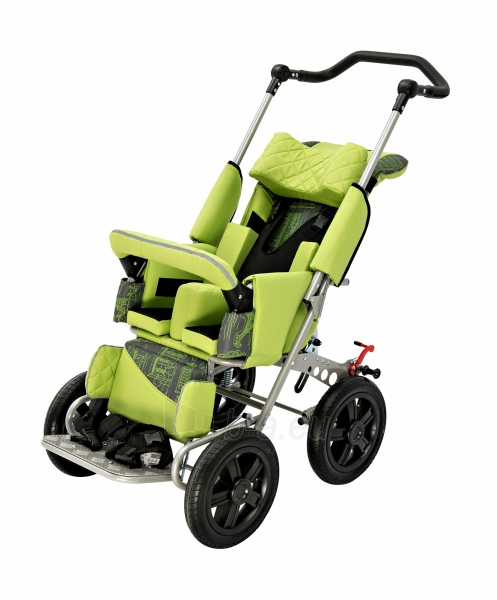 Palydovo valdomas vežimėlis vaikui racer, dydis 2 Paveikslėlis 1 iš 7 310820154781