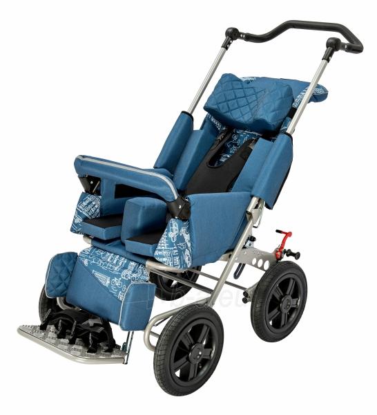 Palydovo valdomas vežimėlis vaikui racer, dydis 2 Paveikslėlis 3 iš 7 310820154781