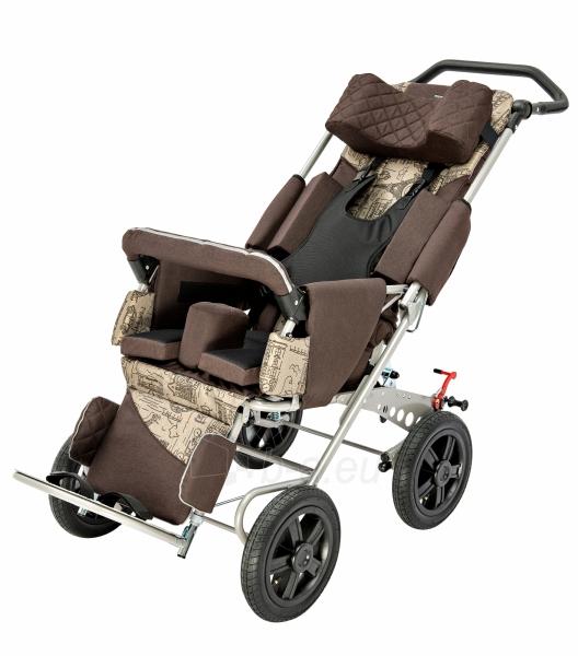 Palydovo valdomas vežimėlis vaikui racer, dydis 2 Paveikslėlis 4 iš 7 310820154781