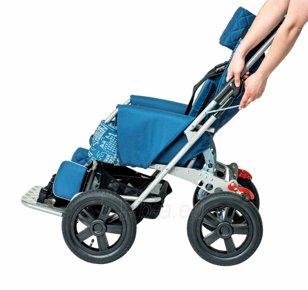 Palydovo valdomas vežimėlis vaikui racer, dydis 2 Paveikslėlis 5 iš 7 310820154781