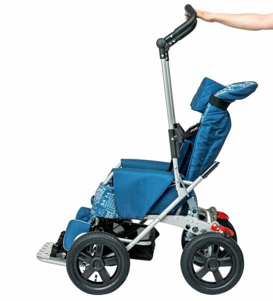 Palydovo valdomas vežimėlis vaikui racer, dydis 2 Paveikslėlis 6 iš 7 310820154781