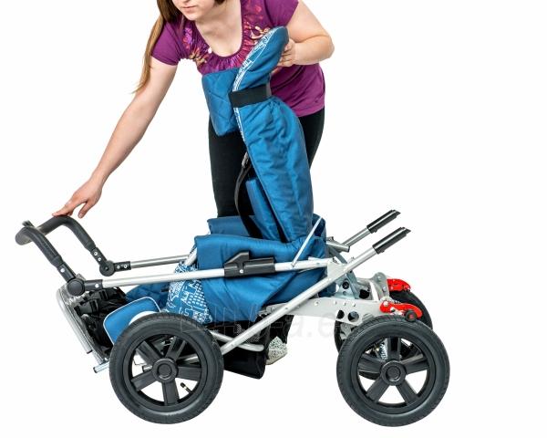 Palydovo valdomas vežimėlis vaikui racer, dydis 2 Paveikslėlis 7 iš 7 310820154781