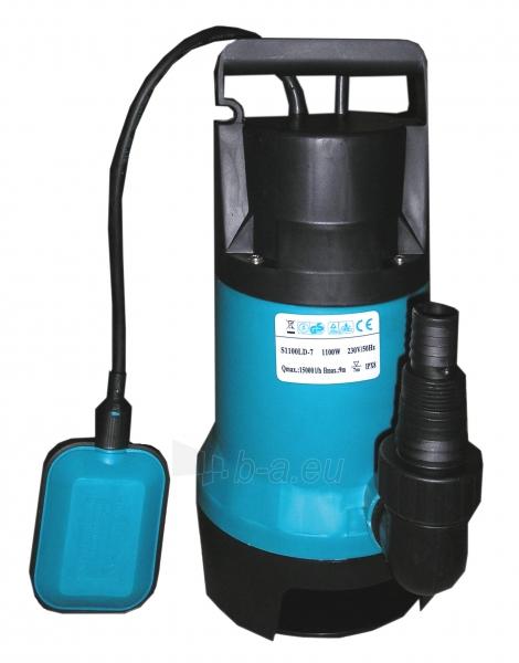 Panardinamas elektrinis vandens siurblys nešvariam vandeniui P1100LD-7 Paveikslėlis 1 iš 2 270832000213