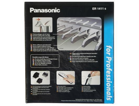 PANASONIC ER1411S501 Plaukakirpė Paveikslėlis 4 iš 4 310820012628