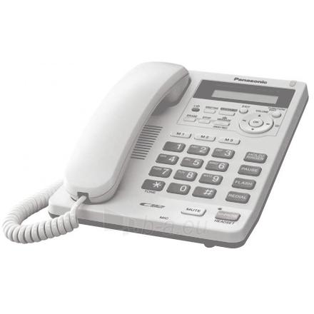 Telefonas Panasonic KX-TS620FXW Corded phone, White Paveikslėlis 1 iš 2 250233000298