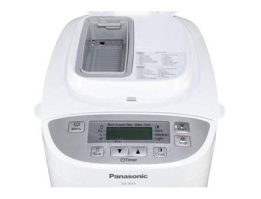 PANASONIC SD-2511WXE Duonkepė Paveikslėlis 2 iš 3 310820044776