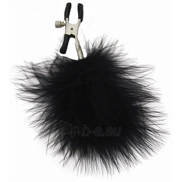 Pančiai S&M - Feathered Nipple Clamps Paveikslėlis 1 iš 1 310820017967
